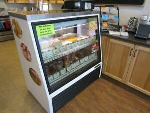 True Mfg Tsid 48 2 l Two Door Deli Case 48 With Stainless Top