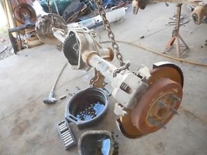 00 03 Ford F150 Rear End Axle 3 55 Ratio 9 75 Ring Disc Brakes Non Locking