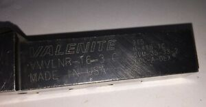 Valenite Metal Lathe Tool Holder Vmvlnr 16 3 C