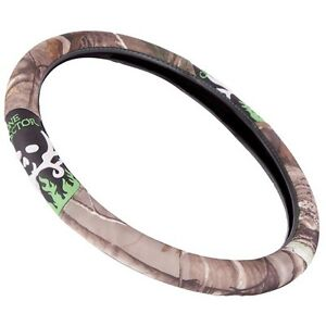Bone Collector Realtree Camo Grip Steering Wheel Cover Auto Truck Car