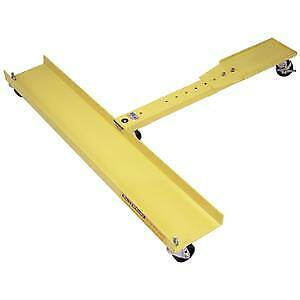 Snow Plow Cart Plow Dolly Quick Mount Plow Cart For Fisher Snow Plow