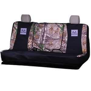 Realtree Bench Seat Cover Universal Truck Car Auto Camouflage