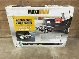 53 X19 Cargo Carrier Luggage Rack Hitch Travel Maxxhaul 70107 Nib