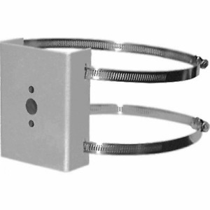 New Pelco Pa101 Pole Adapter Mount For Em1400 pm14 Mm1000 With Mounting Straps
