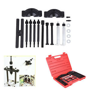 14pcs Gear Bearing Flywheel Puller Separator Splitter Work Tool Kit Set New