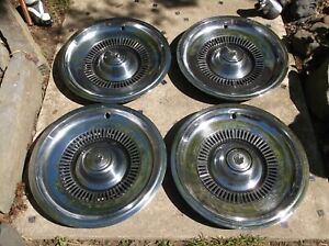 Wheel Covers Set Of 4 1969 70 Buick 15 Hubcaps Electra 225 Deuce A Quarter
