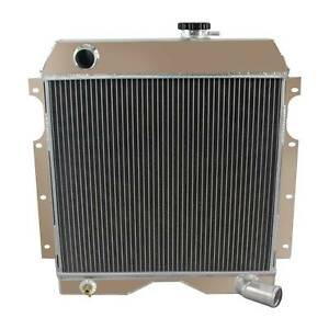 3 Row Aluminum Radiator For 1954 1964 1963 1962 1961 Jeep Willys Truck wagon