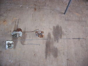 1968 Dodge Coronet Station Wagon Tailgate Latches Complete Set 3