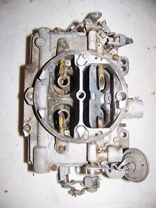 1965 383 Carter Afb Carburetor 3856s Dodge Coronet Plymouth Belvedere Satellite