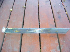 1964 Chrysler Crown Imperial Roof Pillar Trim Oem 2480076