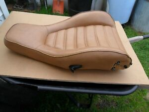 Vintage 77 Porsche 924 Bucket Seat Manual Tilt Section Rh Passenger Side Tan