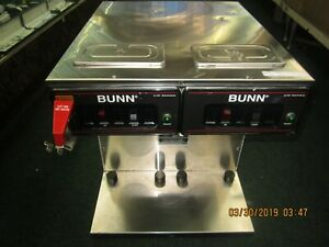 Bunn o Matic Twin Infusion Airpot Commercial Coffee Maker Cwtf Twin tc