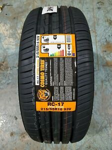 215 55r16 Cosmo Rc 17 93v M S Set Of 4