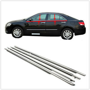 Window Moulding Trims Weatherstrip Seal Belt For Toyota Camry 2007 2011 2008