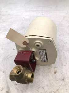 El o matic Els 25 Electric Rotary Actuated 3 4 3 way Brass Ball Valve 400psi