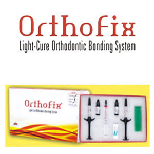 3x Anabond Orthofix Light Cure Orthodontic Metal Ceramic Bracket Adhesive Kit