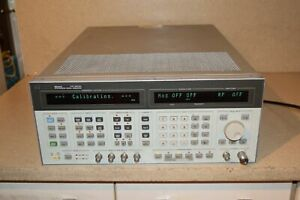 ss Hp Hewlett Packard 8644a Synthesized Signal Generator sd2