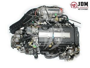 1988 1991 Honda Civic 1 6l Vtec Engine Automatic Transmission Jdm B16a