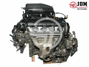 2001 2005 Honda Civic 1 7l Sohc Vtec Engine Jdm D17a