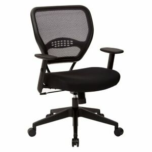 Scranton Co Back Managers Office Chair With Black Mesh Fabric