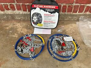 Laclede Alpine Premier 1545 les Schwab 1545 s Diamond Pattern Tire Chains new