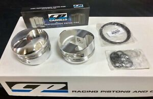 Bbc Bb Chevy 540 Cp Forged Pistons 43cc Dome 4 500 Bore