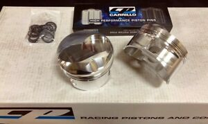 Bbc Bb Chevy 555 Cp Ss Forged Pistons 46cc Dome 4 560 Bore 043 043 3 0mm