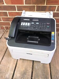 Brother 2840 Intellifax 2840 high speed Laser Fax Machine Work Well Missing Tray