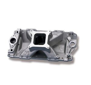 7531 Weiand Team G Aluminum Intake Manifold Chevy Small Block 350