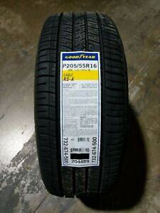 P205 55r16 Goodyear Eagle Rs a 89h Sl set Of 4