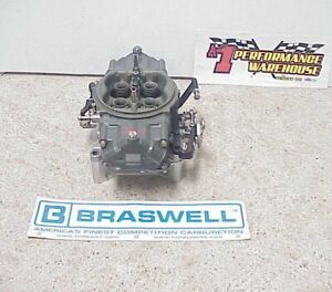 Braswell Holley Hp 830 Cfm Annular Boosters Gas Racing Carburetor Nascar Dei 36