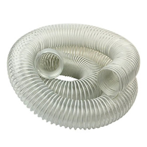 Clear flex Hose 2 1 2 inch By 10 foot