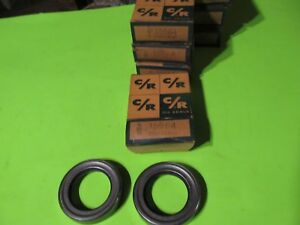 1933 1934 1935 1936 Chevrolet Rear Axle Seals 592441 Nos Chicago Rawhide
