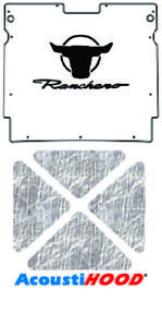Hood Insulation Pad Cover For 1967 Ford Fairlane Ranchero Under Cover With F 037