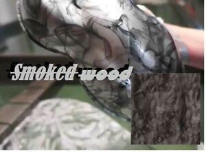 19x393 Hydrographic Film Water Transfer Printing Dip Smoked Wood Whole Sale