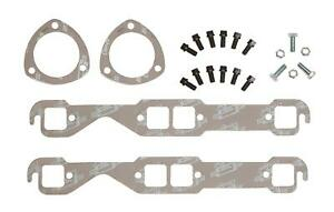 Mr Gasket Installation Kit For Headers Square Exhaust Ports Gaskets Bolts Sbc
