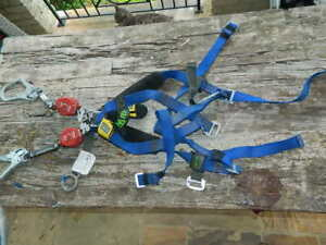 Miller Welder Harness W Twin Turbo Lite Fall Limiters With Lanyard 2