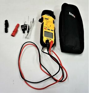 Uei Test Instruments Dl479 True Rms Hvac r Clamp Meter Ac 600 Amp Nice
