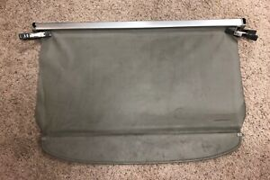 2004 2009 Toyota Prius Rear Cargo Cover Oem Security Shade Gray