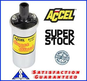 Accel 8140c Super Stock Coil 42000 Volts Ford Chevy Buick