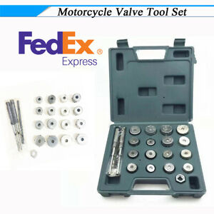 High Quality Valve Tool Set With Grinding Head Winch For Honda Suzuki Us Stock