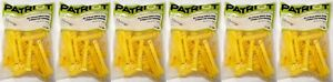 150 Total Patriot 820036 Yellow 5 Back Side Electric Fence T post Extender