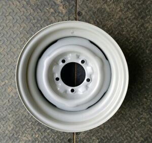 Wheel Vintiques 62 Series 15x7 5 5 5 Steel Silver Bare Wheel Ford Chevy Style