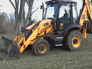 L k 2009 Jcb 3cx14 Backhoe 4x4 Ex hoe Super Clean