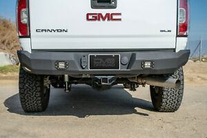 Dv8 Offroad Heavy Duty Rear Bumper With Led Lights For 15 20 Canyon Colorado
