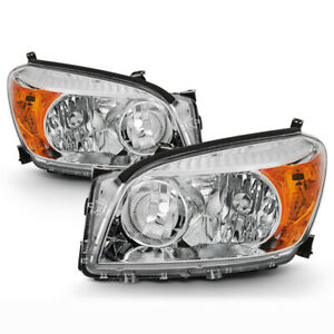 plug play For 06 08 Toyota Rav4 Factory Stlye Replacement Headlight Lamp L r