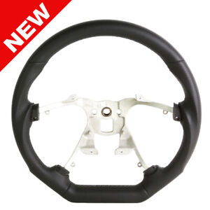 Handkraftd 07 13 Chevy Silverado Suburban Steering Wheel Black W Gray Stitch