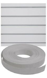 Vinyl Inserts Slatwall Panel Gray Shelving Display 130 Ft 6 Rolls Decorative