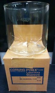 Vintage Pyrex Cylindrical Jar Container 6 X 6 6942