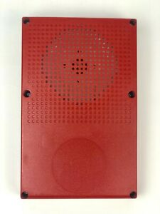 new Edwards Wg4rf h Fire Alarm Genesis Outdoor Wall ceiling Red Fire Horn Only